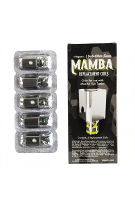 Coils Replacement for Mini Vape Mod MAMBA (5 pack)